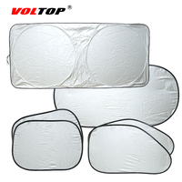 6pcs 1set Car Curtains Shade Block Auto Side Window Glasses Sunshades Front Rear Windshields Sun Visor