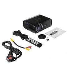 LESHP Multi-media LED Video Projector 1080P HD Office Home Cinema BL-80 1000:1 Black