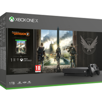 MICROSOFT XBOX ONE X 1TB THE DIVISION2 IN