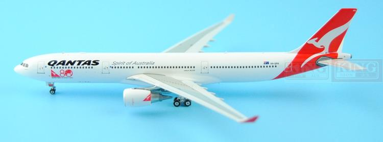 Phoenix 11147 Australian Airlines VH-QPA 1:400 A330-300 commercial jetliners plane model hobby phoenix 11006 asian aviation hs xta a330 300 thailand 1 400 commercial jetliners plane model hobby