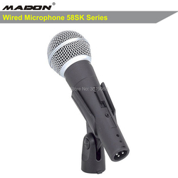 Free shipping, 58sk wired dynamic cardioid professional microphone , sm-58sk sm-58 wired microphone
