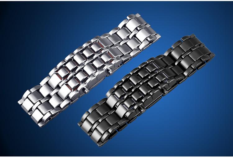 Aidis youth sports watches waterproof electronic second generation binary LED digital men's watch alloy wrist strap watch 37