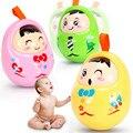 Brinquedos Tumbler Boneca Brinquedos Do Bebê Bebe Educacional Chocalhos de Bebê Bonito Matlyoshka Cor Aleatória Com Caixa de Presentes de Natal