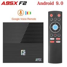 2020 A95X F2 Android 9.0 Smart TV Box 4GB RAM 32GB S905X3 Se