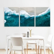 Laeacco Canvas Painting Calligraphy Abstract Wave Wall Artwork Graffiti Posters and Prints Home Living Room Wall Decor Pictures