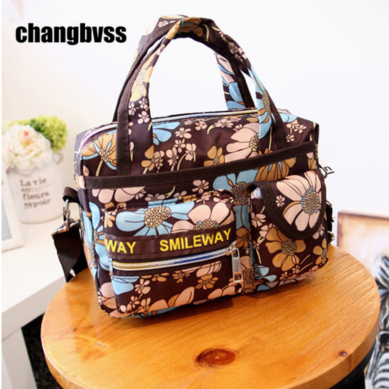 bbf2b7b8d76e Multi Pockets Women Shoulder Bag Large Capacity Maternity Bag Baby Nappy  Diaper Changing Bag Handbags for Mom bolsa infantil