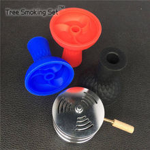 цена 1pcs Silicone Hookah Bowl And 1pcs Hookah Charcoal Holder As Gas lighter 1 lot Suit For Metal Hookahs Free Shipping Shisha Bowl онлайн в 2017 году