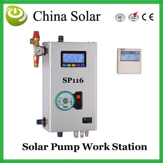 цены  SP116 Intelligent Solar water heater Station +Free Shipping,Guaranteed 100%,wholesale