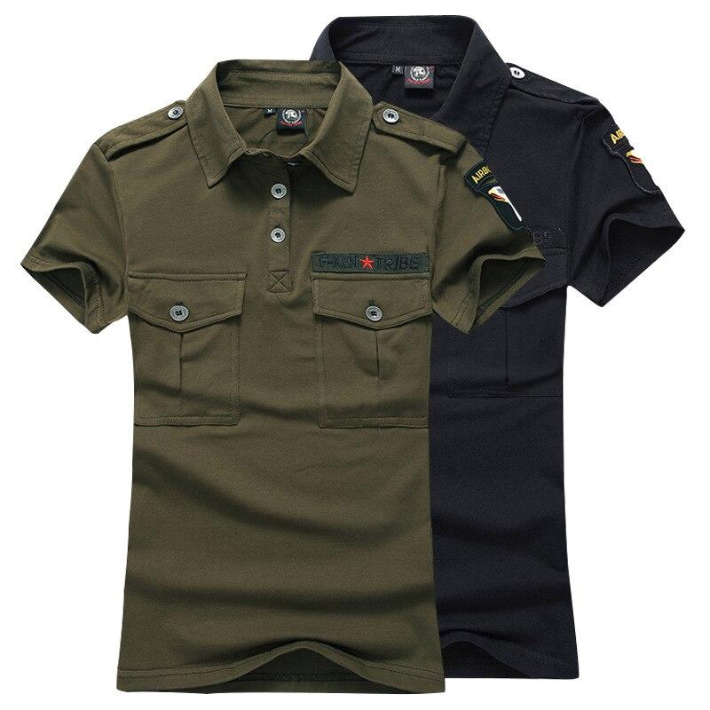 2017fashion camouflage polo shirts plus size 4xl cotton for Plus size golf polo shirts