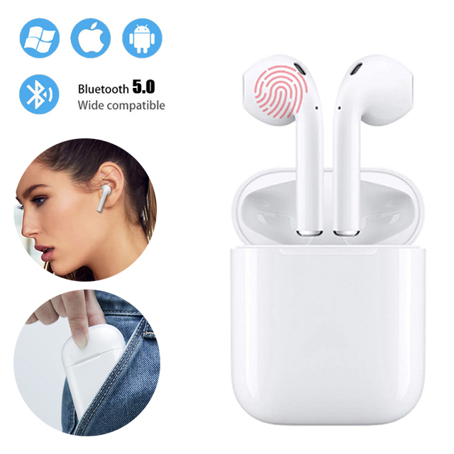 $26.24 i13 TWS Headphones For Iphone Samsung Xiaomi Wireless Bluetooth 5.0 Earphone Headset PK i10 i11 i12 i7s Tws For All Smart Phone
