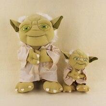 2017 Hot Cute 20 35cm Star Wars Master Yoda Plush Soft Stuffed Doll Toys For Kids
