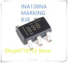 NOVA 10 pçs/lote INA138NA INA138 MARCAÇÃO B38 SOT23-5 IC
