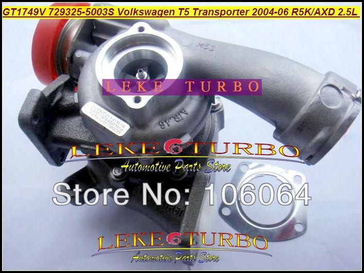 GT1749V 729325 729325-0003 729325-0002 070145701KX 070145701KV Turbo For Volkswagen VW T5 Bus Transporter 04-06 R5K AXD 2.5L TDI turbocharger chra gt1749v 729325 5003s 729325 for volkswagen t5 transporter 2 5 tdi