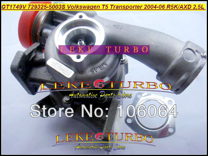 GT1749V 729325 729325-0003 729325-0002 070145701KX 070145701KV Turbo For Volkswagen VW T5 Bus Transporter 04-06 R5K AXD 2.5L TDI