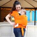 2015 Mochila Envoltório Estilingue Do Bebê Portador de Bebê Hipseat Canguru Mochila Cor Sólida Algodão Elástico Melhor Presente Do Chuveiro de Bebê