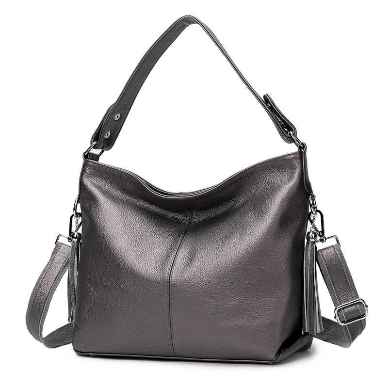ZENCY 100% натуральная коровья кожа женская сумка первый слой воловья длинная ручка сумка-мессенджер сумка-портфель белые Серебристые мешочки