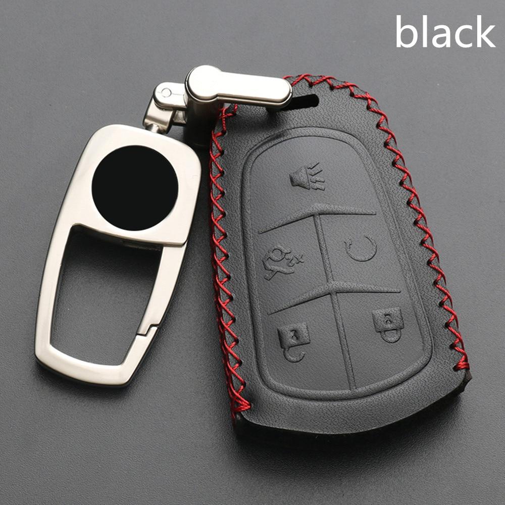 key shell car key pack cover auto key case keychain For Cadillac CTS ATS 28T CTS-V coupe SRX Escalade srx atsl xts 2015 XT5 CT6
