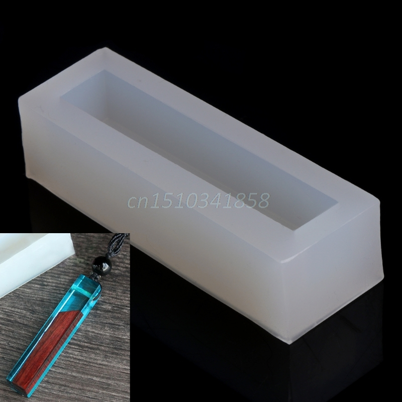 купить DIY Silicone Cabochon Mold Making Jewelry Pendant Resin Casting Mould Hole Craft онлайн