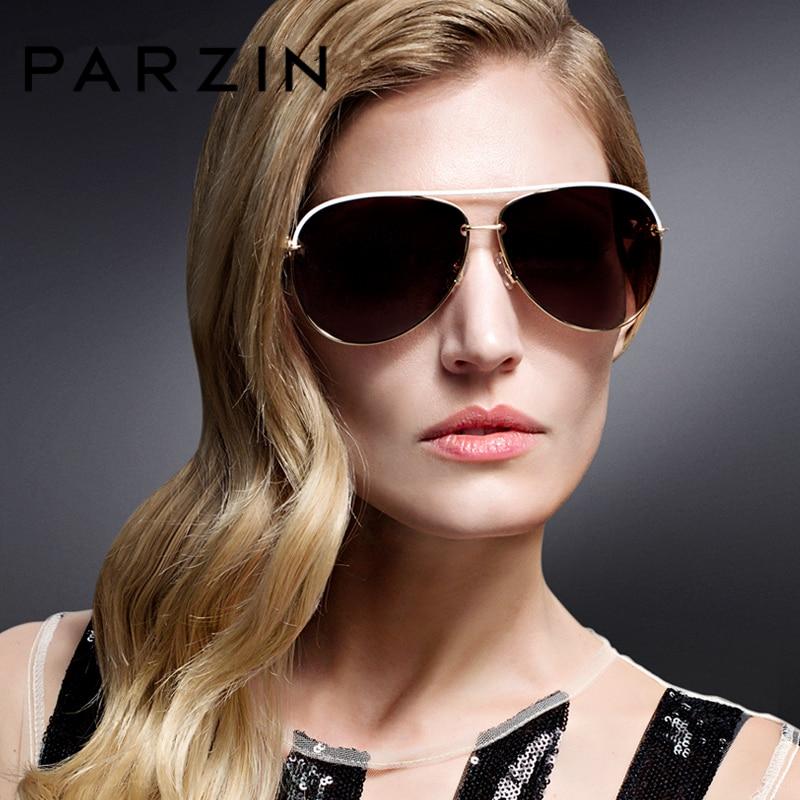 PARZIN De Luxe Diamant Polarisé Femmes Lunettes De Soleil Élégant - Accessoires pour vêtements - Photo 2