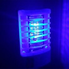 Новинка, светодиодный светильник от комаров, Электрический жучок, ночник, освещение, ЕС, для использования в помещении, для насекомых, для спальни