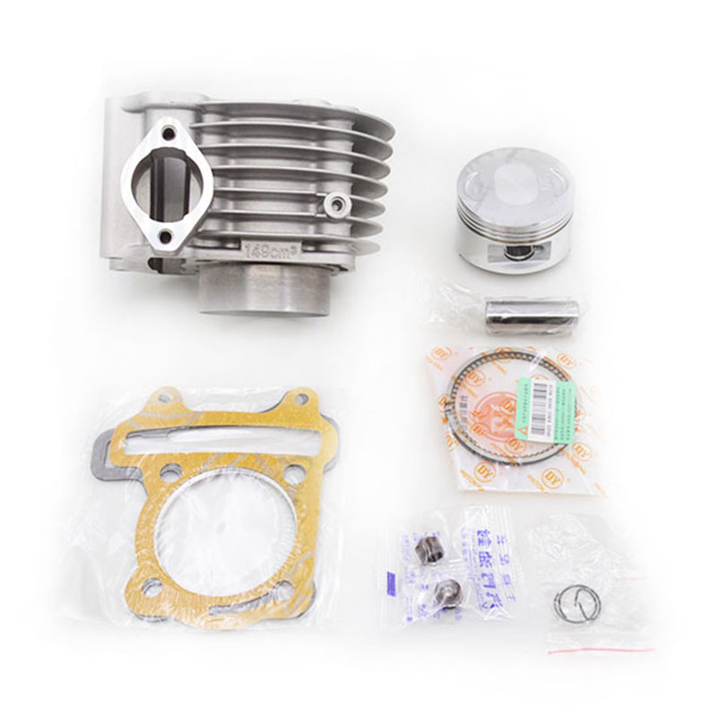 High Quality Motorcycle Cylinder Kit 57.4mm For GY6-150 GY6 150 157QMJ Engine Spare Parts 2sets lot 2088 high quality motorcycle cylinder kit for yamaha zy100 rsz100 rs100 jog100 zy rs jog 100 100cc engine spare parts