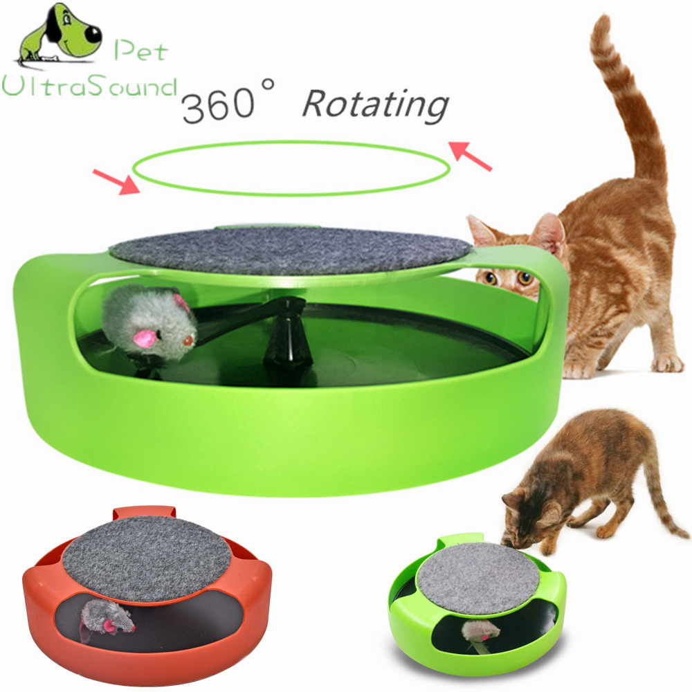 ULTRASOUND PET Cat Toy Mouse Crazy Training Funny Toy For Cat Playing Toy with Mice Cute Cat Mouse Toy Catch the Motion Mouse