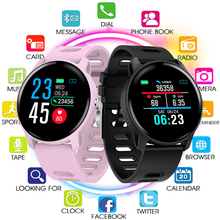 купить 2019 Men Smart Watch S08 IP68 Waterproof Fitness Tracker Heart Rate Monitor Smartwatch Women Clock for Samsung Android IOS Phone по цене 1583.25 рублей