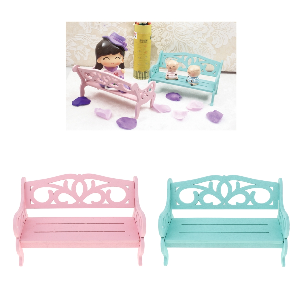 Fabulous Us 3 83 29 Off 1 6 Doll Carved Park Bench Garden Chair Furniture Kid Pretend Play Toy On Aliexpress Ibusinesslaw Wood Chair Design Ideas Ibusinesslaworg
