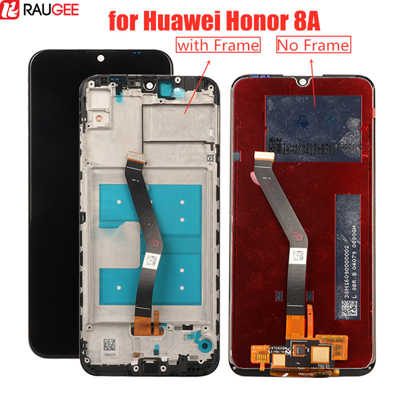 LCD Screen For Huawei Honor 8A LCD Display+Touch Screen With Frame Replacement For Huawei Honor 8A 6.09'' LCD Digitizer Display
