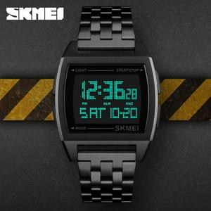 Image 4 - SKMEI ทหารกีฬานาฬิกา LED นาฬิกาอิเล็กทรอนิกส์นาฬิกากันน้ำแบรนด์หรู Mens นาฬิกา Relogio Masculino