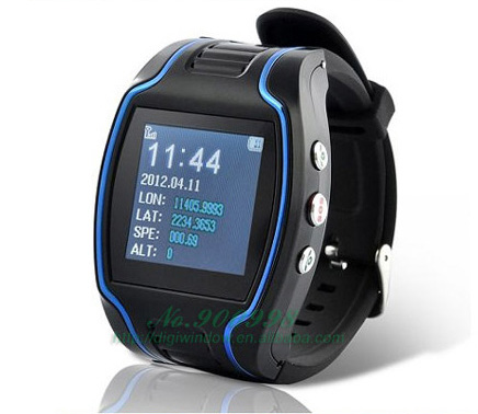 Watch G P S Tracker TK109 GSM Quadband for Child Kid Elderly With Time Display w