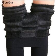 Тресдин пикантные осень-зима модные женские туфли плюс кашемир Tight Высокое Качество трикотажного бархата Колготки для новорождённых эластичный тонкий теплый толстый Колготки для новорождённых