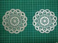 Flower Bottom Metal Die Cutting Scrapbooking Embossing Dies Cut Stencils Decorative Cards DIY Album Card Paper
