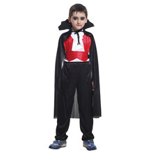 Children Evil Bat Vampire Costumes for Boys Halloween Purim Party Carnival Cosplay halloween costumes for girls princess dress kids vampire clothes cosplay bat set for party outfit boys costume children clothing