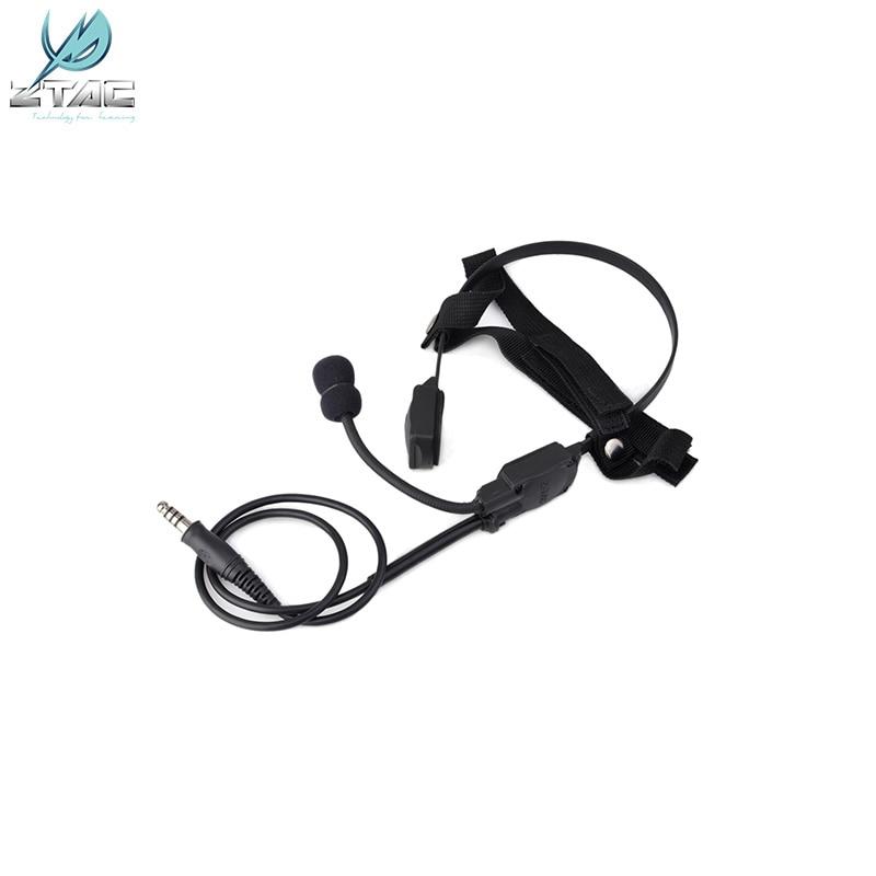 Z136 Z-TAC Airsoft Bone-speaker MH180-V Atlantic Signal Headset Bone Conduction Signal Headphones