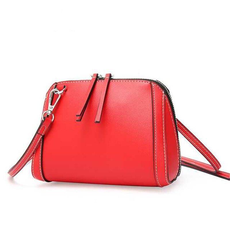 2019 nouvelle mode en cuir véritable femme sac cartables sacs sac à bandoulière dames sacs à main messenger sacs