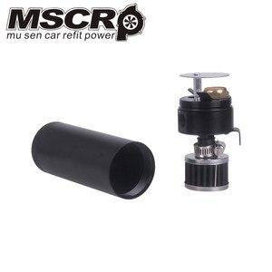 Image 5 - Universale Alluminio Billet Sconcertato 2 port Oil Catch Can Serbatoio con Filtro Sfiato Motore Mini Separatore Olio