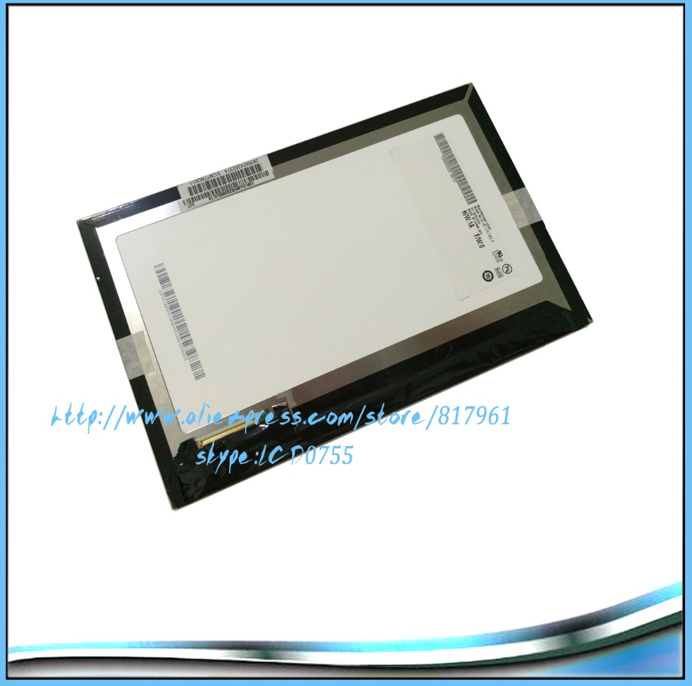 100 Original New LCD Screen Display Panel for Acer Iconia Tab A700 A701 B101UAN02 1 B101UAT02
