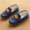 Crianças primavera outono meninos meninas peas shoes crianças da menina do menino sapatos 2016 nova moda tamanho 21-30 para mais de 2 anos velho