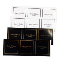 30Pcs/lot Vintage Black & White Best Wishes Sealing Sticker 2 Style Choice For Gift