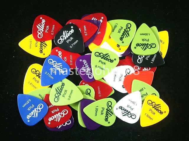 Lots of 100pcs Alice Electric/Acoustic Guitar Pick...