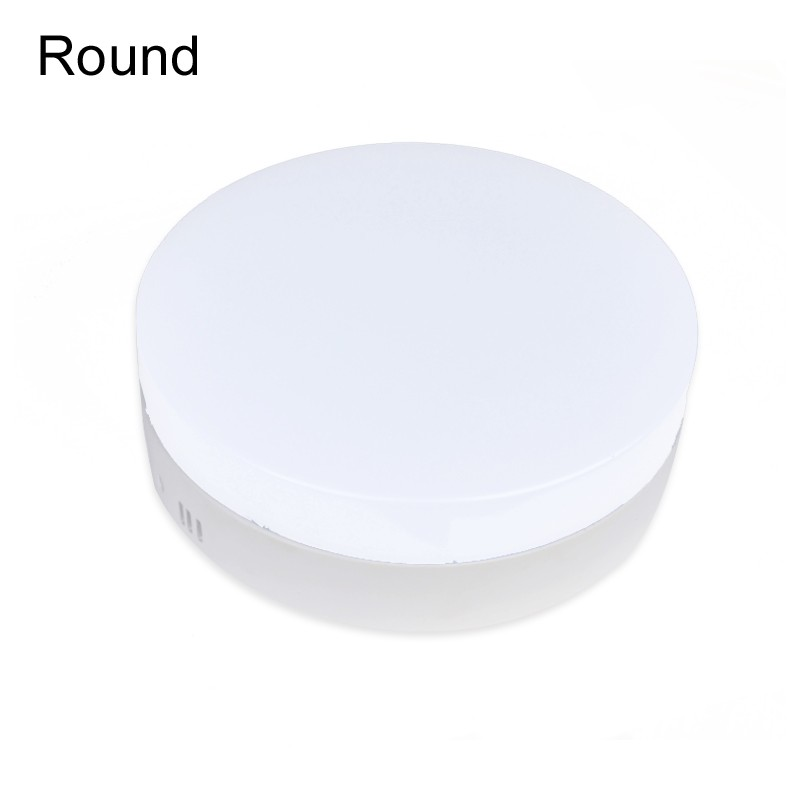 1pcs/lot 6W / 12W / <font><b>18W</b></font> 24W SMD <font><b>2835</b></font> <font><b>LED</b></font> High quality light guide plate Aluminum Round/Square Surface Mounted <font><b>LED</b></font> Panel Light image
