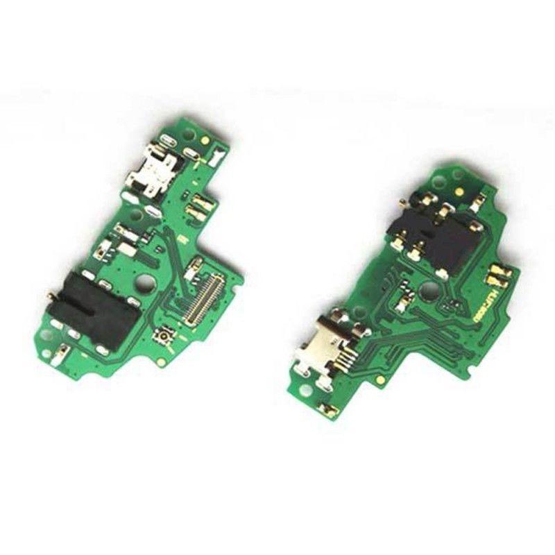 For Huawei P Smart USB Charging Dock Board+Audio Headphone Jack Port For Huawei P Smart Charging Board Enjoy 7S Dock Port Flex