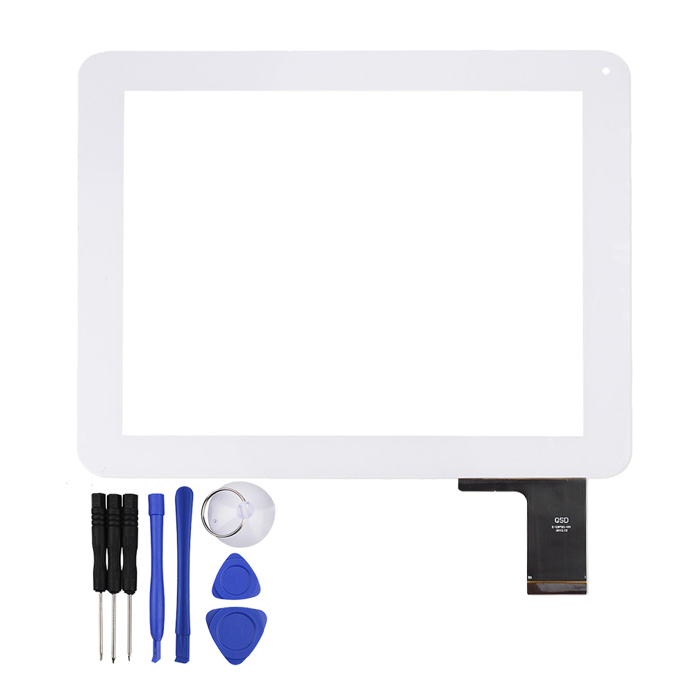 New 9.7 Touch Screen QSD E-C97011-04 for Digma IDS D10 3G Tablet Digitizer Glass Panel Sensor Replacement Free Shipping new for 10 1 digma eve 10 2 3g tablet capacitive touch screen panel digitizer glass sensor replacement free shipping