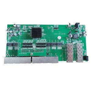 Image 4 - Reverse PoE switch 8x10M/100M/1000M Port & 2 SFP Gigabit Ethernet switch PCB motherboard