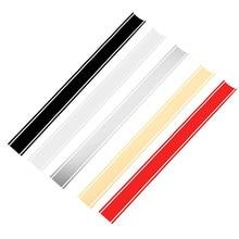 1pcs 50 x 4.5 cm Motorcycle Tank Cowl Vinyl Stripe Pinstripe Decal Sticker For Cafe Racer Moto car styling high quality qilejvs motorcycle diy tank fairing cowl vinyl stripe pinstripe decal sticker for cafe racer 50 x 4 5 cm
