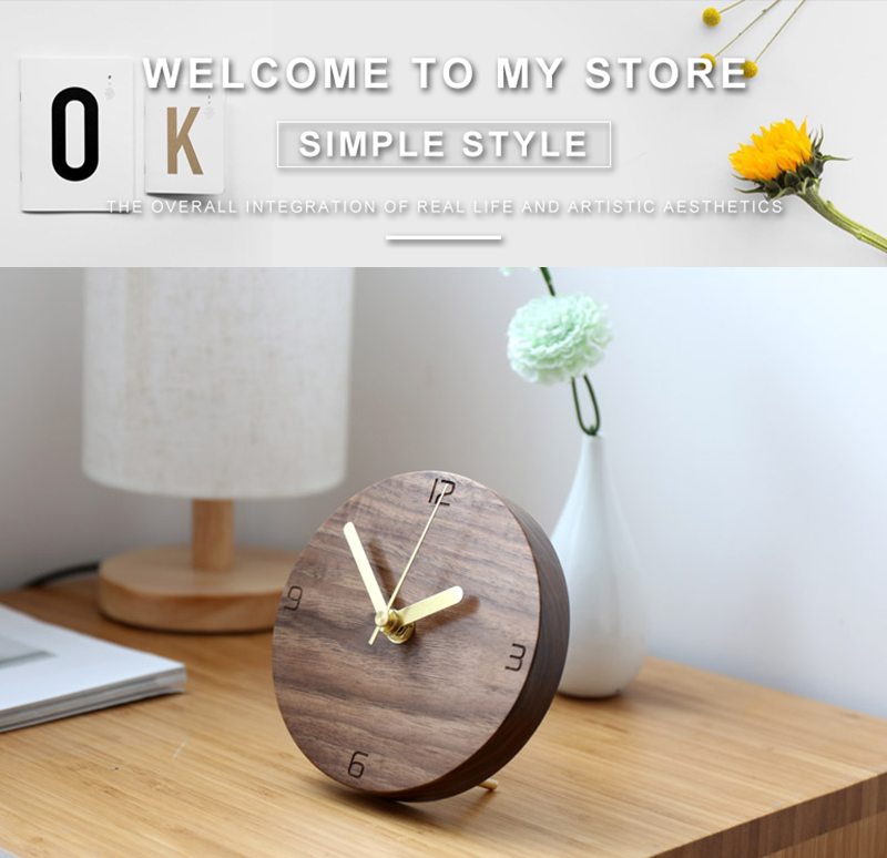vintage wooden clock clock industrial la crosse mini antique decoration reloj sobremesa moderno decoracion alarm clock batman wood clock desk (1)