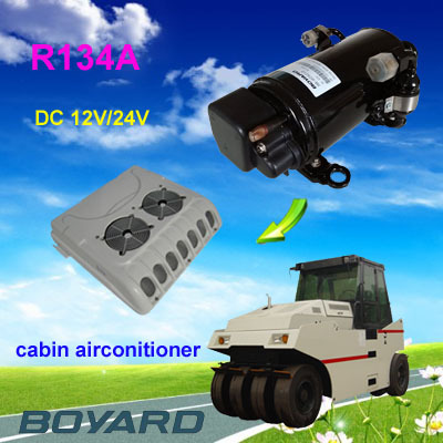 Electric Car Ac Kits R134a 12 Volts Dc Auto Air Conditioner Compressor Hb075z12 850w For Solar Aircondition Of Ecov Motorcar