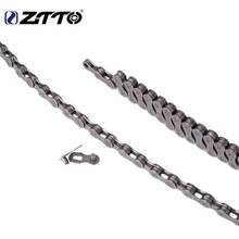ZTTO MTB Mountain Bike Road Bicycle Galvanized 9s 18s 27s 9Speed Chain For K7 Parts With Magic Button Master