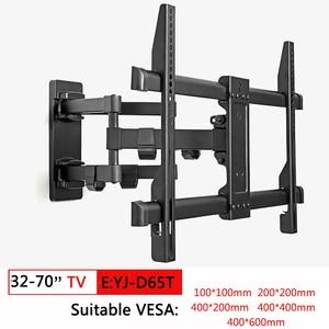 Image 5 - Full Motion TV Wall Mount TV Bracket สำหรับ 10 70 นิ้วเอียงหมุนวงเล็บ TV PC Monitor MOUNT วงเล็บหมุนผู้ถือทีวี